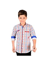 Anry Little Checkered Cotton (9-10yrs)Shirts for Boys