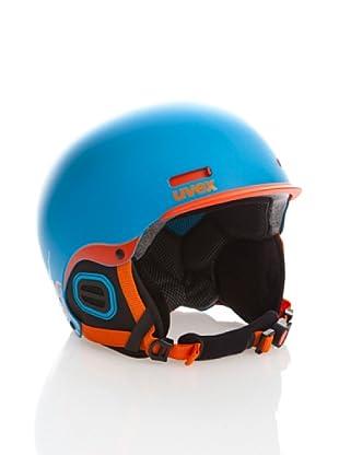 Uvex Casco Ski Hlmt 5 Pro (Azul / Naranja Mate)