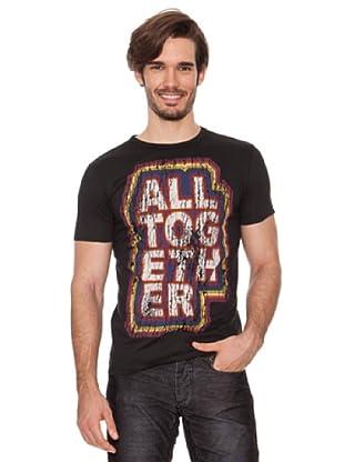 Desigual Camiseta Arrejuntados Out (Negro)