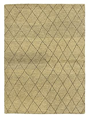 Hand-Knotted Marrakech Rug, Gray, 4' 7
