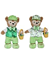 """Disney Parks Exclusive Duffy Bear St. Patricks Day & Easter Reversible Boxed Costume Outfit Set 17"""""""