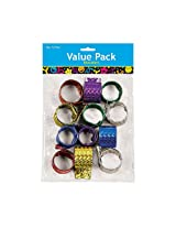 Metallic Slap Bracelets - 12 per unit