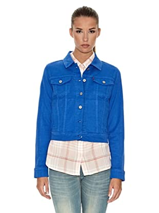 Levi´s Jacke Young Cropped (Nautical Blue)