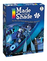 BePuzzled Made in the Shade Blue 750pc Puzzle