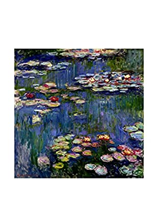 Especial Arte Lienzo Waterlilies Multicolor