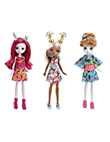 Ever After High Dragon Games Forest Pixies Dolls Set Of 3: Featherly, Deerla And Harelow Netflix Original Series