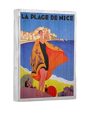 Artehouse La Plage de Nice Reclaimed Wood Sign