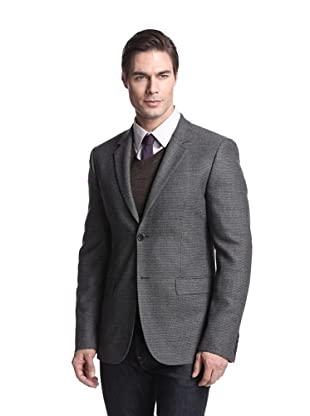 Calvin Klein Collection Men's Bowery 2-Button Check Sportcoat (Gotham)