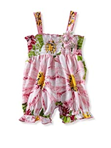 Baby Nay Smocking Balloon Romper (Akela)