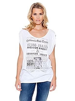 Guess Camiseta Angelique (Blanco)