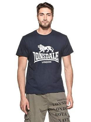 Lonsdale Camiseta Jinan (Azul Marino)