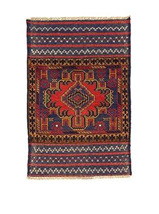 Eden Teppich Beluchistan rot/blau 83 x 132 cm