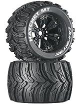 Duratrax Hatchet MT 3.8 Mounted 1/2 Offset Tyre (Set of 2), Black