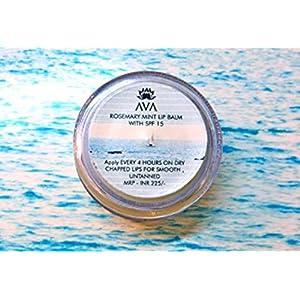 AVA BLUE BEACH LIP BALM WITH SPF 15 - NO PETROLEUM JELLY