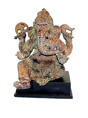 Asian Loft Bronze Ganesha on Stand