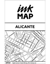 Alicante Inkmap - maps for eReaders, sightseeing, museums, going out, hotels (English)