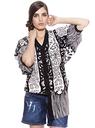 Cuple Camisa (Blanco / Negro)
