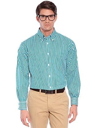 Hackett Camisa Cuadros (Verde / Blanco)