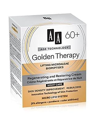 AA Cosmetics Nachtcreme Age Technology Golden Therapy 60+ 50 ml, Preis/100 ml: 29.9 EUR