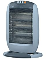 Orpat OHH-1200 1200-Watt Halogen Heater (T.Grey and White)