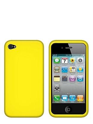 Blautel iPhone 4/4S Funda Silicolor Amarillo
