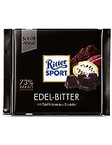 Ritter sport fine Extra dark chocolate 73%, 100g