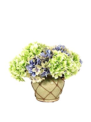 Creative Displays Mixed Hydrangea in Rope Pot