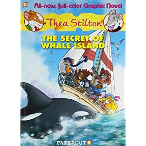 Thea Stilton Graphic 01 - The Secret of Whale Island
