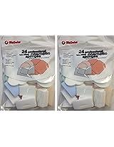 Bio Swiss Latex Free 24 Professional Cosmetic Sponges (2 Pack)