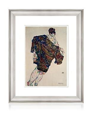 Man and Coat, Egon Schiele
