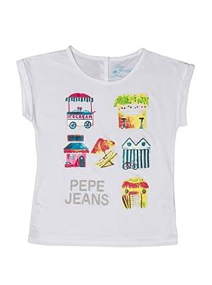 Pepe Jeans London Camiseta June (Blanco)
