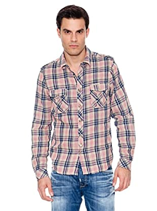 Pepe Jeans London Camisa Baker (Amarillo)