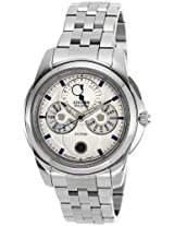 Citizen Eco-Drive Analog White Dial Men's Watch - BU0011-55A