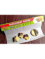 """Parchment Paper for Baking and Healthy Cooking and recipes Ebook. Non stick. Thick carton box. Sharp cutter. 15 inch width and 393 inch long. Boolik """"EasyRoll""""."""