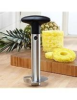 DivineXt Heavy Stainless Steel Fruit Pineapple Corer Slicer Peeler Kitchen Cutter Knife
