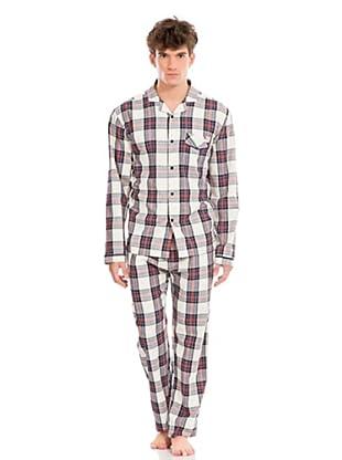 Springfield Pyjama (Blau/Weiß/Rot)