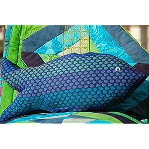 Fish Shaped Cushion.