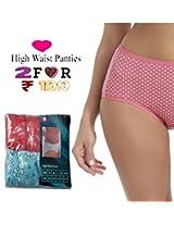 Seasons Hushh Pack Of 2 High Waist Panties B110B1103OH_Multi