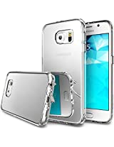 Galaxy S6 Case, Ringke FUSION ** Bright Reflection & NEW Scratch Resistant**[MIRROR][1 Free Screen Protector] Radiant Luxury Mirror Case w/Dust Free Cap & Drop Protection for Samsung Galaxy S6