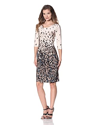 Leota Women's Ava Dress (Animal Border)
