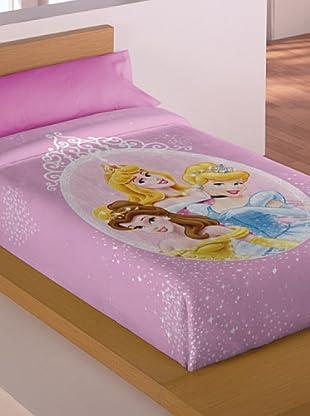 Disney Home Coperta Principesse (Rosa)
