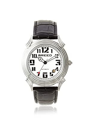 Breed Men's BRD1302 Strauss Black Leather Watch