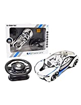 1:14 Licensed Vision Bmw I8 2.4 G Hz 4 Channel Steering Wheel Tri Band Full Function Radio Remote Control Rc Car Comes Ready To Play With All Batteries