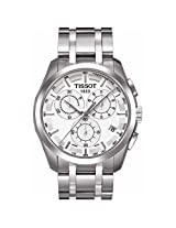 Tissot Couturier White Dial Mens Watch