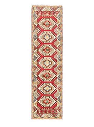 Hand-Knotted Royal Kazak Rug, Red, 2' 9
