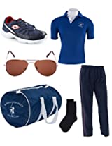 Lotto Combo Of Men Track Suit Sunglasses Bags Socks And Shoes