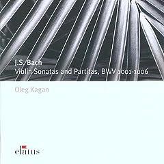 カガン独奏 バッハ 無伴奏ヴァイオリンのためのソナタとパルティータの商品写真