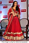 Bollywood Replica Aishwarya Rai Net and Velvet Lehenga In Red Colour NC619