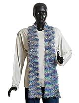 DollsofIndia Women's Fashionable Scarf - Silk Thread - Mauve