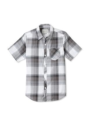 O'Neill Boy's 8-20 Ellisworth Woven Shirt (Black)